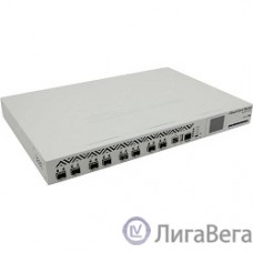 MikroTik CCR1072-1G-8S+ Cloud Core Router 1072-1G-8S+ with Tilera Tile-Gx72 CPU (72-cores, 1GHz per core), 16GB RAM, 8xSFP+ cage, 1xGbit LAN, RouterOS L6, 1U rackmount case, two redundant hot plug PSU