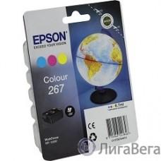EPSON C13T26704010 Картридж цветной для WF-100 (cons ink)