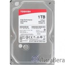 1TB Toshiba (HDWD110UZSVA) P300 {SATA 3, 7200 rpm, 64Mb buffer, 3.5″}