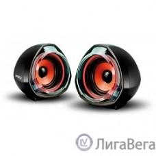 Perfeo колонки ″Tam-Tam″ 2.0, мощность 2х3 Вт (RMS), чёрн, USB  (PF-1001)