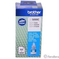 Brother BT5000C Чернила, Cyan DCPT300/500W/700W (41,8мл, 5000стр) (BT5000C)