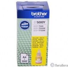Brother BT5000Y Чернила, Yellow DCPT300/500W/700W (41,8мл, 5000стр) (BT5000Y)