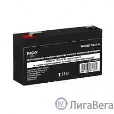 Exegate EP249950RUS Аккумуляторная батарея  Exegate Power EXG12022, 12В 2.2Ач, клеммы F1