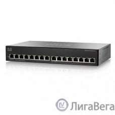Cisco SB SG110-16-EU Коммутатор 16-портовый 16-Port Gigabit Switch