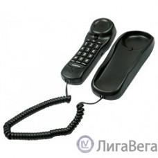RITMIX RT-003 black {Телефон проводной Ritmix RT-003 черный [повторный набор, регулировка уровня громкости, световая индикац]}