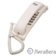RITMIX RT-007 white {Телефон проводной Ritmix RT-007 белый [повторный набор, регулировка уровня громкости, световая индикац]}