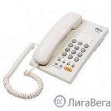 RITMIX RT-330 white {[повторный набор, регулировка уровня громкости, световая индикац]}