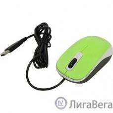 Genius DX-110 Green {мышь оптическая, 1000 dpi, 3 кнопки+колесо прокрутки, провод 1,5 м, USB} [31010116105]