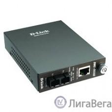 D-Link DMC-515SC/D7A Конвертер 10/100 UTP в 100Мб SM Fiber (15km, SC)