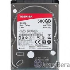 500Gb Toshiba (HDWJ105UZSVA) L200 {SATA 3, 5400 rpm, 8Mb, 2.5″}