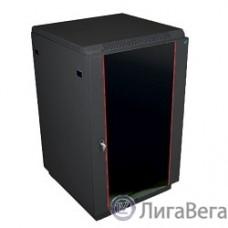 ЦМО Шкаф телекоммуникационный напольный 18U (600x600) дверь стекло, цвет чёрный (ШТК-М-18.6.6-1ААА-9005) (2 коробки)