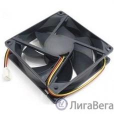 Gembird Вентилятор 80x80x15, подшипник, 3 pin, провод 30 см (D8015BM-3)