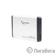 Gembird EE2-U3S-2-S Внешний корпус 2.5″ Gembird EE2-U3S-2-S, серебро, USB 3.0, SATA, металл