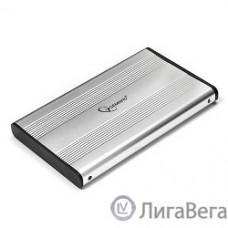Gembird EE2-U2S-5-S Внешний корпус 2.5″ Gembird EE2-U2S-5-S, серебро, USB 2.0, SATA, металл