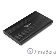 Gembird EE2-U3S-5 Внешний корпус 2.5″ Gembird EE2-U3S-5, черный, USB 3.0, SATA, металл