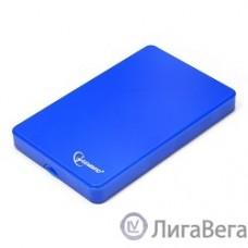 Gembird EE2-U2S-40P-B Внешний корпус 2.5″ Gembird EE2-U2S-40P-B, синий, USB 2.0, SATA, пластик