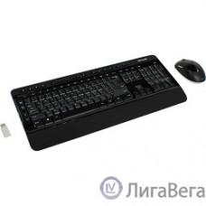 Microsoft Wireless Desktop 3050 Keyboard mouse Balck USB (PP3-00018)