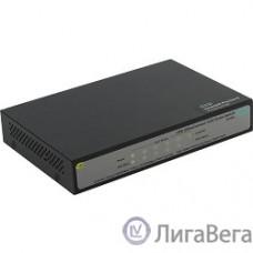 HP JH328A Коммутатор HPE 1420 5G PoE+ неуправляемый 19U 5x10/100/1000BASE-T