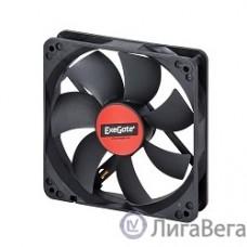 Exegate EX166176RUS Вентилятор ExeGate Mirage-S 120x120x25 подшипник скольжения, 1200 RPM, 25dB, 3pin