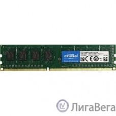Crucial DDR3 DIMM 4GB (PC3-12800) 1600MHz CT51264BD160B