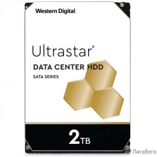 2Tb Western Digital Ultrastar DC HA210 {SATA 6Gb/s, 7200 rpm, 128mb buffer, 3.5″} [1W10002/HUS722T2TALA604]