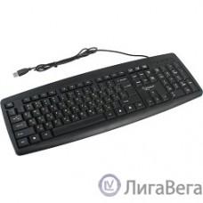 Keyboard Gembird KB-8351U-BL, черный, USB, 104 клавиши