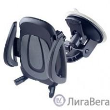 Perfeo PF_4518 Автодержатель для смартфона до 6,5″/ на стекло/ торпедо/ супер присоска/ черный+серый