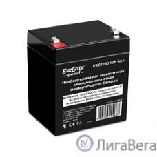 Exegate ES255175RUS Аккумуляторная батарея  Exegate Special EXS1250, 12В 5Ач, клеммы F1