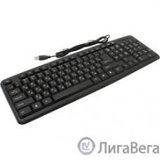 Defender HB-420 RU Black USB [45420] {Проводная клавиатура, полноразмерная}