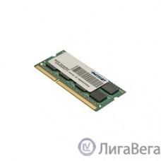 Patriot DDR3 SODIMM 4GB PSD34G1600L81S (PC3-12800, 1600MHz, 1.35V)