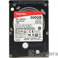 500Gb Toshiba (HDWK105UZSVA) L200 Slim {SATA 3, 5400 rpm, 8Mb, 2.5″, 7.5 mm}