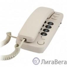 RITMIX RT-100 ivory {Телефон проводной Ritmix RT-100 бежевый [повторный набор, регулировка уровня громкости, световая индикац]}