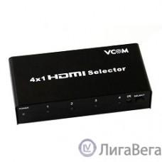 VCOM DD434 Переключатель HDMI 1.4V  4=>1 VCOM