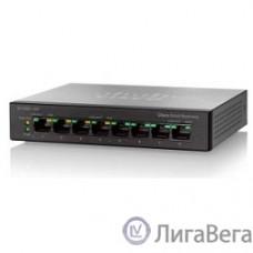 Cisco SB SF110D-08HP-EU Коммутатор 8-Port 10/100 PoE Desktop Switch