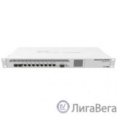 MikroTik CCR1009-7G-1C-1S+ with Tilera Tile-Gx9 CPU (9-cores, 1.2Ghz per core), 2GB RAM, 7xGbit LAN, 1x Combo port (1xGbit LAN or SFP), 1x SFP+ cage, RouterOS L6, 1U rackmount case, Dual PSU, LCD pa