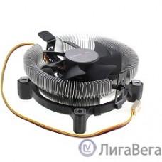 CROWN Кулер для процессора CM-80 (Для Intel и AMD, TDP до 65 Ватт,Низкая посадка радиатора , Гидродинамическии подшипник, Размер: 115*103*42 мм)