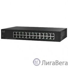 Cisco SB SF110-24-EU Коммутатор 24-портовый SF110-24 24-Port 10/100 Switch