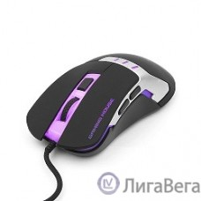 Gembird MG-520 USB {Мышь игровая, 5кнопок+колесо-кнопка, 3200DPI, 1000 Гц, подсветка, программное обеспечение для создания макросов}