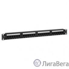 Exegate EX256752RUS Патч-панель UTP 19″ 24 port кат.5e Exegate  разъём KRONE&110 (dual IDC), 1U