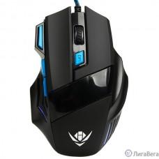 Мышь MOG-21U Nakatomi Gaming mouse - игровая, 7 кнопок + ролик прокрутки, USB, черная