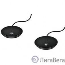 Logitech ConferenceCam Group [989-000171]  Микрофоны выносные проводные 2 шт