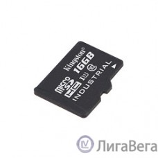 Micro SecureDigital 16Gb Kingston SDCIT/16GB {MicroSDHC Class 10, U1 Industrial, SD adapter}