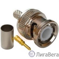 Proconnect (05-3001) РАЗЪЁМ штекер BNC RG-58 обжим (01-001A)