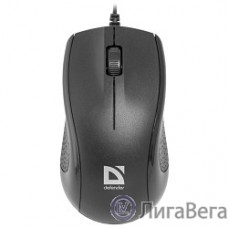 Defender Optimum MB-160 Black USB {Проводная оптическая мышь, 3 кнопки,1000 dpi} [52160]