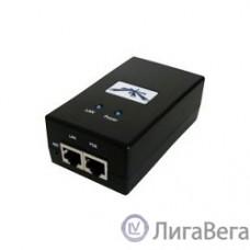 UBIQUITI POE-24-12W-G (Black) Блок питания с PoE, 220 VAC -> 24 VDC, 0.5А