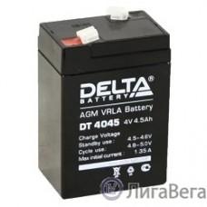 Delta DT 4045 (4,5 А\ч, 4В) свинцово- кислотный аккумулятор