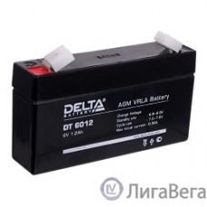 Delta DT 6012 (1,2 А\ч, 6В) свинцово- кислотный аккумулятор