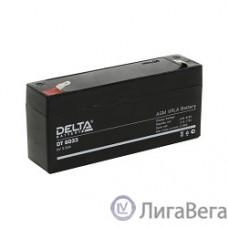 Delta DT 6033 (125) (3,3 А\ч, 6В) свинцово- кислотный аккумулятор