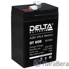 Delta DT 606 (6 А\ч, 6В) свинцово- кислотный аккумулятор