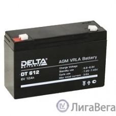 Delta DT 612 (12А\ч, 6В) свинцово- кислотный аккумулятор